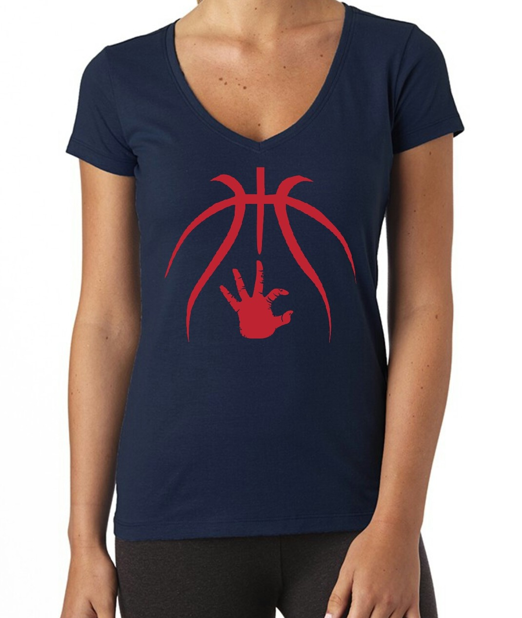 womens Navy basketball/wc