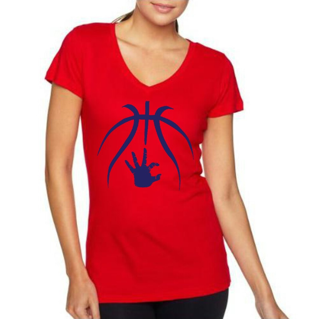 womens red basketball/wc