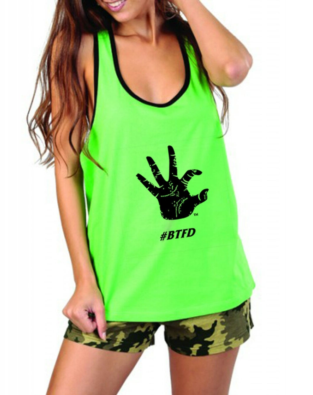 Women's Lime WC tank