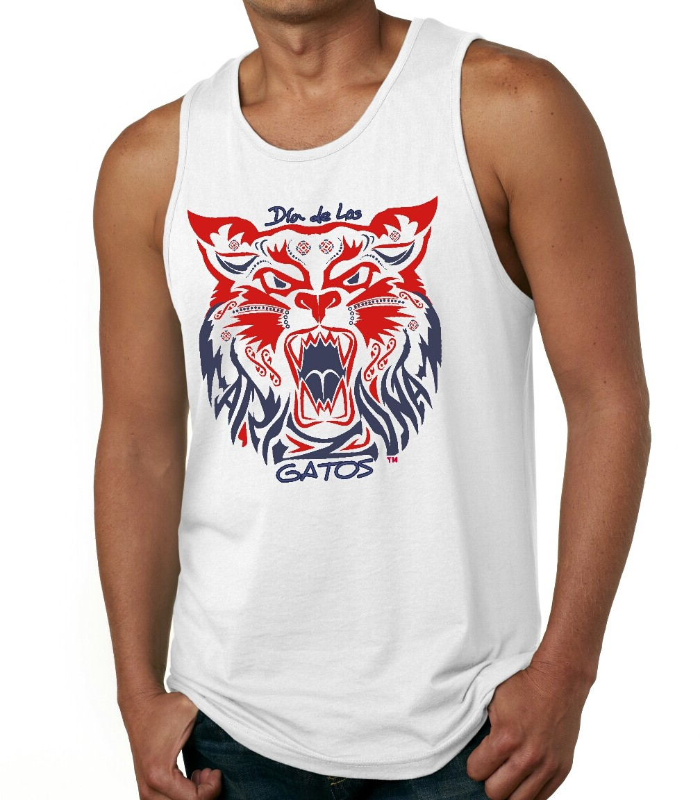 Red/Navy DDLG White Tank