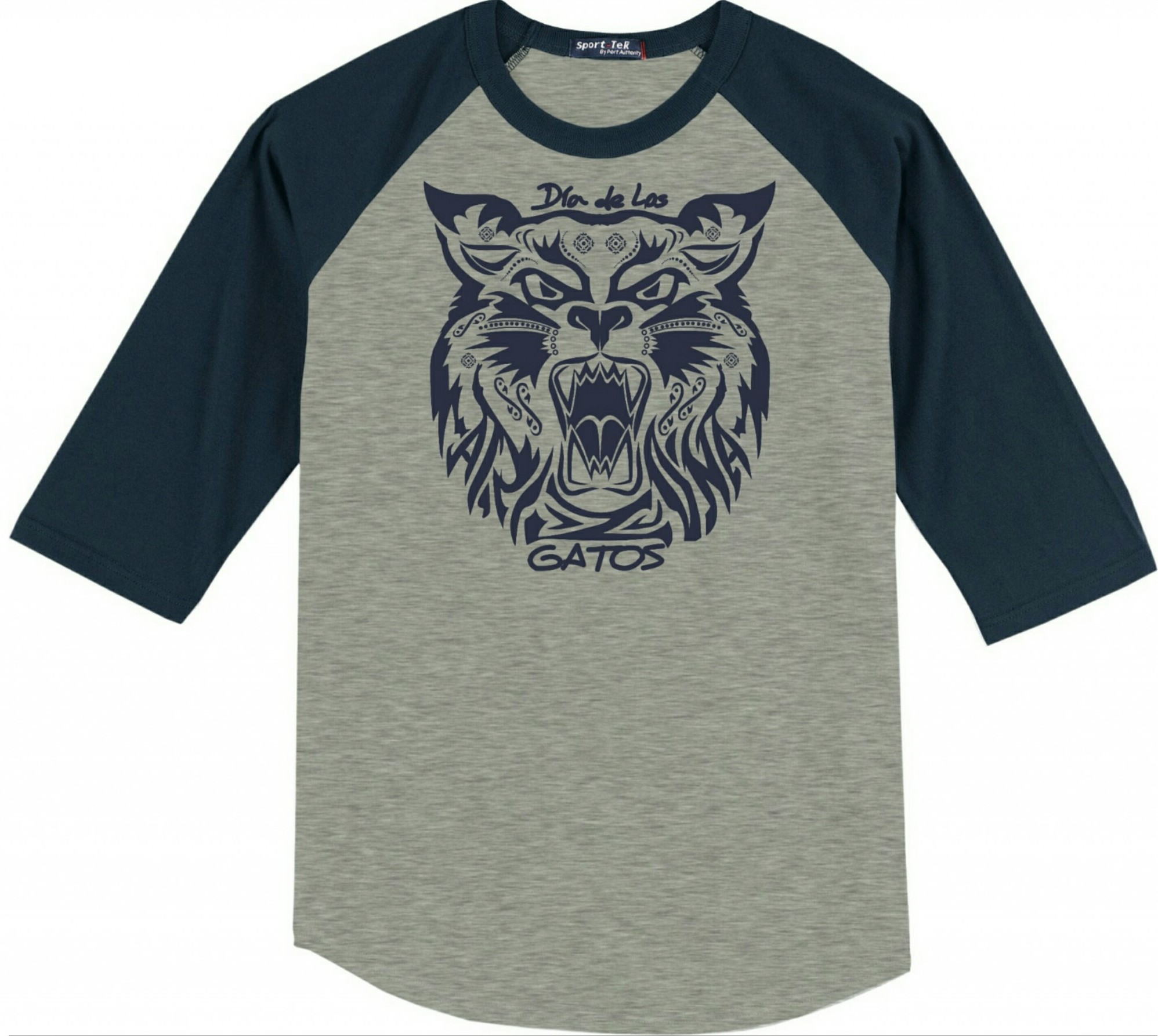 grey/navy baseball DDLG